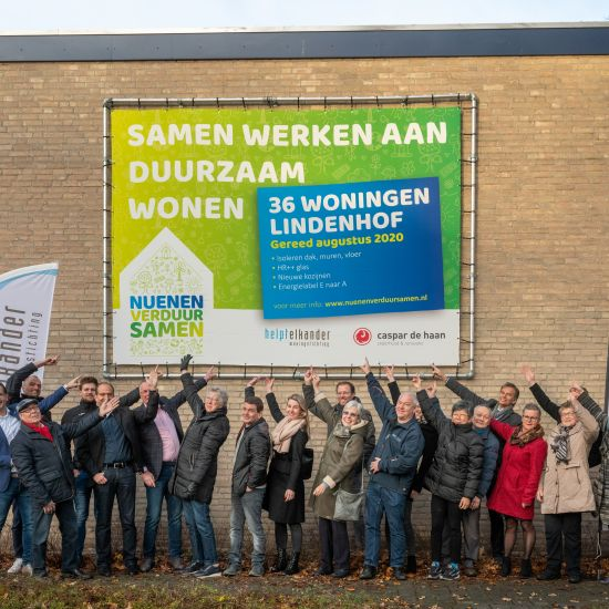 Eerste project Lindenhof van start op 10 december